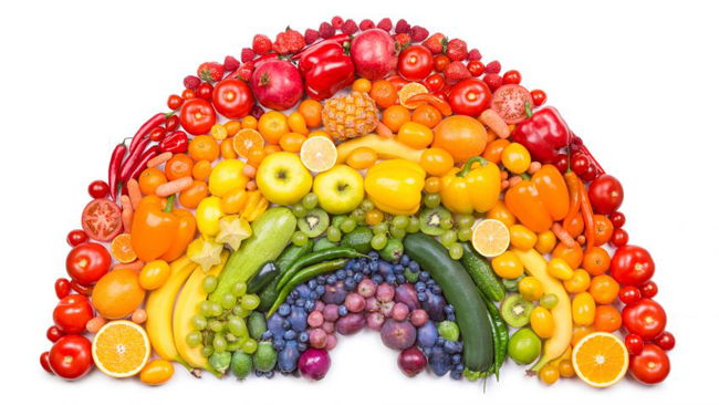 Las verduras son fuente de salud bucal para tus hijos.